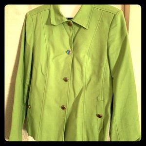 Rafaela green blazer